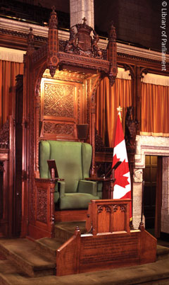 The House Of Commons Speakeru0027s Chair