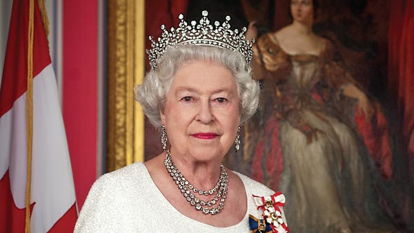 Official Diamond Jubilee Portrait of the Queen of Canada