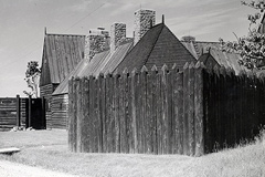 Reconstruction of the Acadian settlement of Port Royal