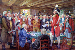 First meeting of the Legislative Assembly of Upper Canada in 1792