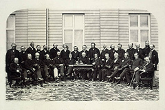 Delegates at the Quebec City Conference of 1864