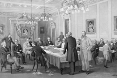 The Fathers of Confederation at the London Conference of 1866
