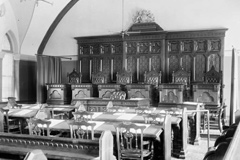Interior of the Supreme Court of Canada in 1890