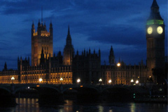 The Palace of Westminster, seat of the British Parliament