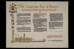 Canadian Bill of Rights 1960/07/01