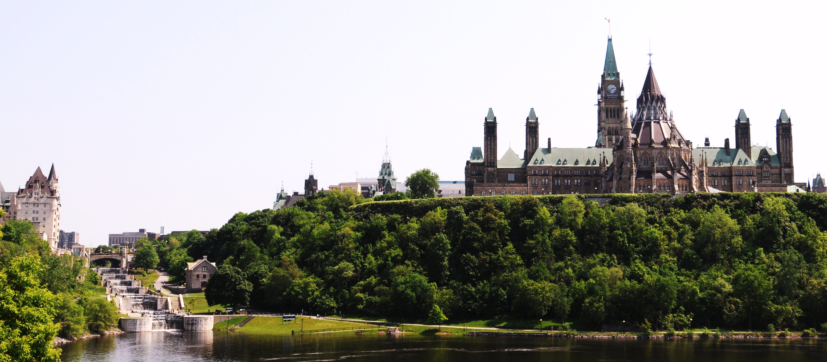 A photo of the Parliament Buildings