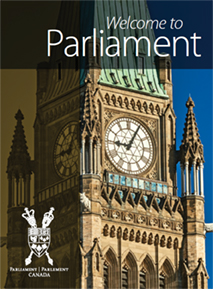 Welcome to Parliament booklet cover